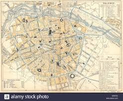 Valencia Spain Map by Spain Valencia 1921 Vintage Map Stock Photo Royalty Free Image
