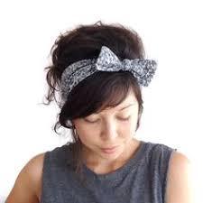 tie headbands dusky pink headband