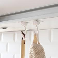 aliexpress com buy 2pcs towel rack hook hanging kitchen cabinet