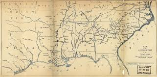 Georgia Map Usa 1890 Map Of Railroad Expansion Across The Us Maps Pinterest Our