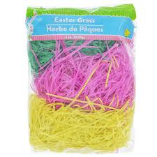 easter grass in bulk bulk tri colored easter grass 3 oz bags at dollartree