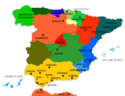 map all all about spain city guide