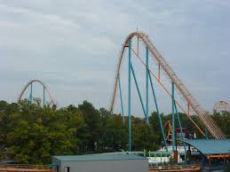 Goliath Six Flags Magic Mountain Park Reviews Riding The Roller Coaster