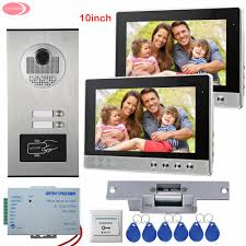 Front Door Video Monitor by Compare Prices On Front Door Video Intercom Systems Online