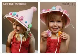 easy diy easter bonnet rachelle rachelle
