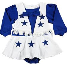 dallas cowboy infant wear dallas cowboys authentic cheerleader