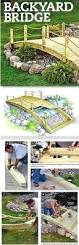 Wood Project Plans Pdf by Build A Bridge For Your Garden Bridge Woodworking Project Plan