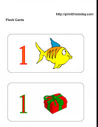free printable flash card maker with pictures kids free kindergarten math worksheets number one1 printable flash