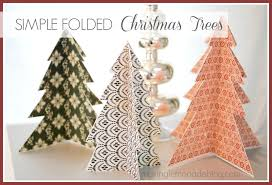 Christmas Decoration Crafts Christmas In A Minute Easy Ribbon Trees Making Lemonade