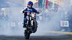related pictures bike stunt