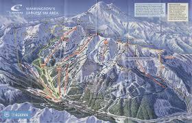 Mountain Map Crystal Mountain Resort Skimap Org