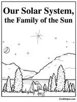 free solar system worksheets edhelper com