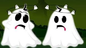 five naughty ghosts scary children u0027s songs happy halloween rhyme