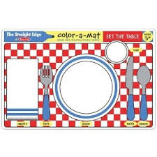 table setting placemat 26 best table setting for kids images on table settings