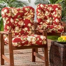 Tie On Chair Cushions Outdoor Marlow Seat Back Chair Cushion Free Shipping On Orders