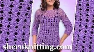crochet blouses knitting and crochet blouses