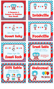 dr seuss baby shower signs printable dr seuss sign baby