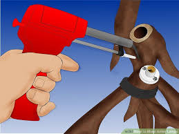 How To Build Antler Chandelier How To Make Antler Lamps 9 Steps With Pictures Wikihow
