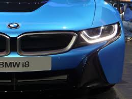 Bmw I8 Laser Headlights - i8 laser headlights at night with video
