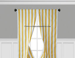 Yellow Stripe Curtains Modern Yellow Curtain Panels Modern Geometric Chevron Damask