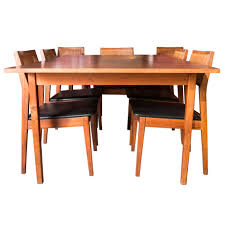 jack cartwright for founders furniture mid century dining table jack cartwright for founders furniture mid century dining table with 8 chairs