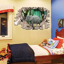 3d elephant kids wall stickers art u0026 craft online store
