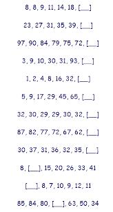 missing number worksheet new 781 missing number sequence