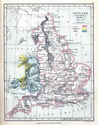 Map England by England In The Reign Of Edward Iii 1327 1377 Ad