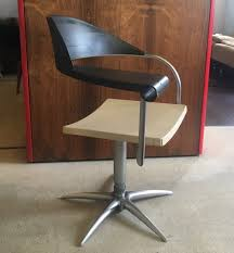 techno barber chair by philippe starck for présence paris l