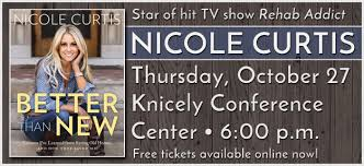 rehab addict u201d nicole curtis author event knicely conference