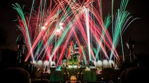 holiday magic festival of lights 2017 festive holidays christmas celebration disneyland resort