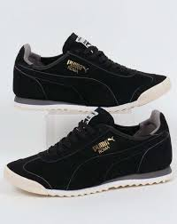 Vintage Mens Clothing Online Puma Mens Clothing Online Shopping Puma Roma Og Leather Trainers