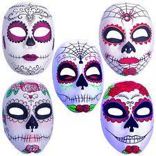 day of the dead masks dia de los muertos mask mens day of the dead sugar skull costume