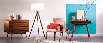 fauteuil design tissu fauteuil design tissu beige pieds noyer bjorg miliboo