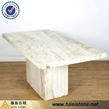 Marble Table Tops For Sale by Dining Table Travertine Top Dining Room Table Travertine Marble