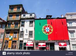 Portugal Football Flag Huge Portugal Flag In Support Of The Portugal Football Team At