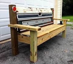 Bench Made From Tailgate 10 Truck Tailgate Benches Real Country Ladies