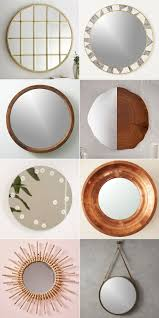 Round Mirrors 40 Resources For Stylish Round Mirrors Jojotastic