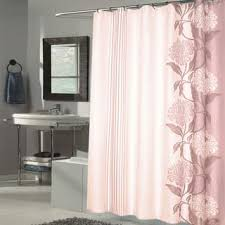 Fabric Shower Curtain With Window Brown Shower Curtains For Less Overstock Vibrant Fabric