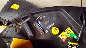 cub cadet rzt problems hour meter issue youtube