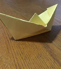 How To Make Boat From Paper - how to make a floating paper boat 10 steps with pictures