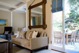 large wall mirrors for living room stunning frameless wall mirrors large decorating ideas gallery in