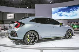 Price Of Brand New Honda Civic 2017 Honda Civic Hatchback Prototype Revealed In New York
