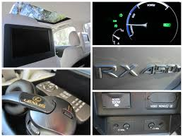 used lexus 450h san diego 2014 lexus rx 450h 5 dr suv dvd player equipped family friendly