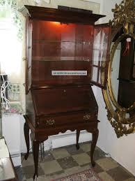 antique curved desk images