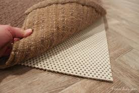 Pottery Barn Rug Pads Awesome Choosing A Rug Pad Of Pottery Barn Style And Concept