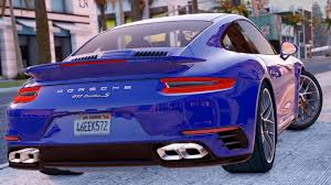 purple porsche 911 2016 porsche 911 turbo s add on replace gta5 mods com