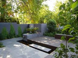 small courtyard designs patio contemporary with swan chairs 19 best water falls images on landscaping balcony and