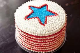 4th july red white blue velvet cake recipe food52
