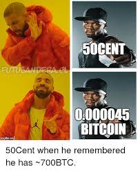 Bitcoin Meme - 50cent 0000045 bitcoin funny meme on me me